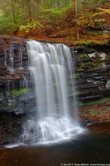 Harrison Wrights Falls, Ricketts Glen